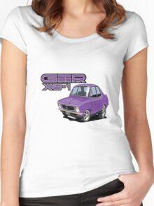 Holden LJ XU1 GTR Torana, Dinger car toon Women's Fitted Scoop T-Shirt