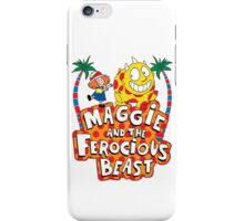 Maggie And The Ferocious Beast iPhone Case/Skin