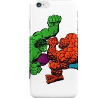The Hulk vs The Thing iPhone Case/Skin
