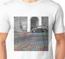 Colored Cobbled Stone Unisex T-Shirt