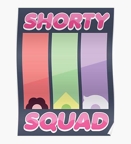 Steven Universe Shorty Squad Poster Poster