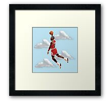 Jordan Polygon Art Framed Print