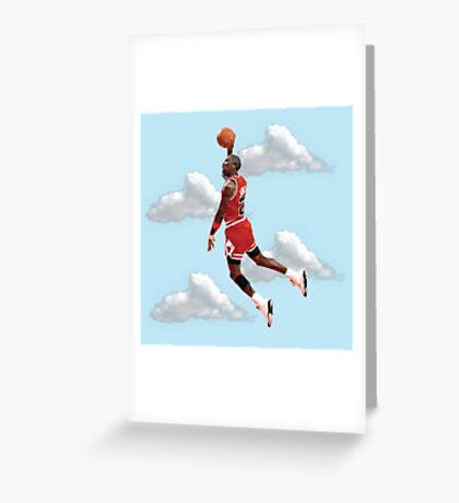 Jordan Polygon Art Greeting Card