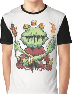 Frog King Graphic T-Shirt