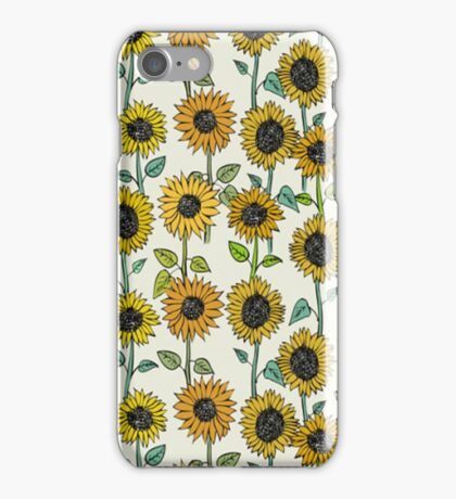 Painted Sunflowers iPhone Case/Skin