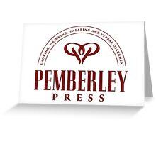 Pemberley Press Greeting Card