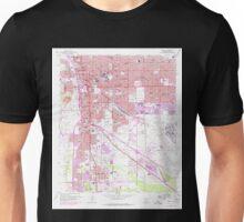USGS TOPO Map Arizona AZ Tucson 313816 1957 24000 Unisex T-Shirt