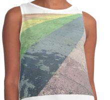 LGBTQ (and up) Pride Pedestrian Crossing  Contrast Tank