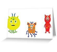 Monster Mash! Greeting Card