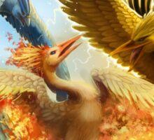 Pokemon Legendary Birds Sticker