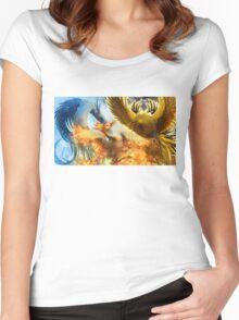 Pokemon Legendary Birds Women's Fitted Scoop T-Shirt