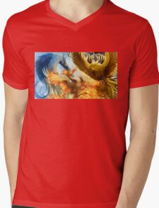 Pokemon Legendary Birds Mens V-Neck T-Shirt