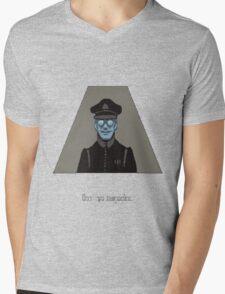 Goodbye Mens V-Neck T-Shirt