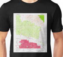 USGS TOPO Map Arizona AZ Tucson North 313829 1957 24000 Unisex T-Shirt