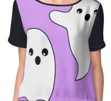 Spooky boo ghosts Chiffon Top