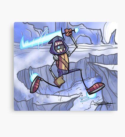 Luk on Ice Canvas Print