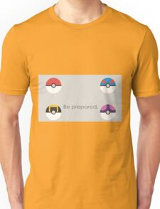 Pokemon Balls Unisex T-Shirt