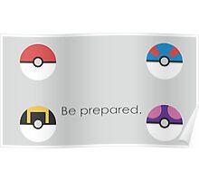 Pokemon Balls Poster