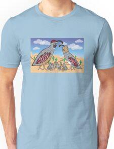 Quail Family Unisex T-Shirt