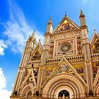 Duomo of Orvieto by Barbara  Brown