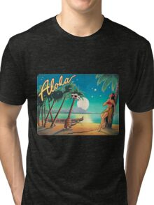 Greetings from Alola Tri-blend T-Shirt
