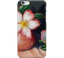 Camellias And Tea Jug II iPhone Case/Skin