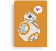 BB-8 Loves You Canvas Print
