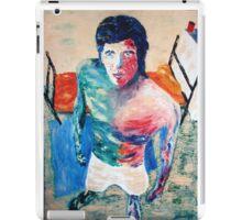 self portrait in jail iPad Case/Skin