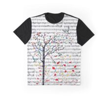 Songbirds in a Tree Graphic T-Shirt