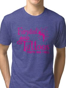 Fairydust and tattoos that is how i roll Tank Top Tri-blend T-Shirt