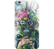 Smell the Flowers iPhone Case/Skin