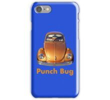 Punch Bug iPhone Case/Skin