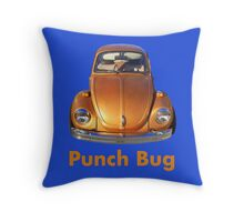 Punch Bug Throw Pillow