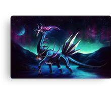 Pokemon Legendary Dialga Canvas Print