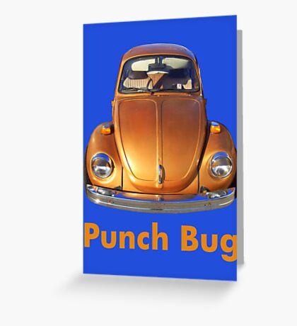 Punch Bug Greeting Card