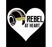 Rebel at Heart Photographic Print