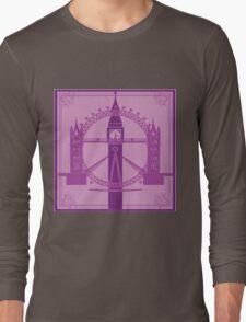 London has gone purple! Long Sleeve T-Shirt