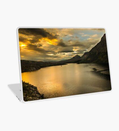 Golden Sunrise Laptop Skin