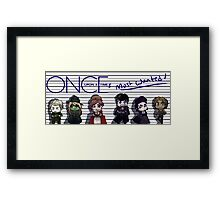 Once Upon A Time's Most Wanted Framed Print