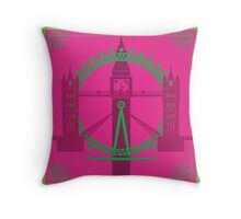Complementary London Throw Pillow