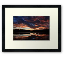 Sunrise on the Bay Framed Print