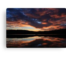 Sunrise on the Bay Canvas Print