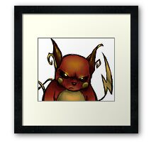 pokemon custom riachu awesome Framed Print