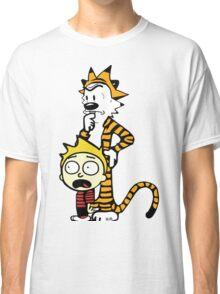 Rick and Morty, Calvin and Hobbes, Mashup Classic T-Shirt