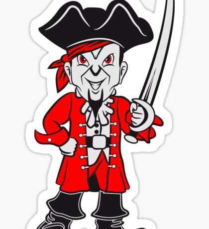 Pirat cool dreispitz degen  Sticker