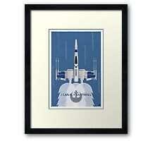 I Can Fly Anything Framed Print