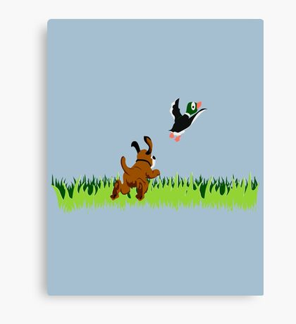 Who's Up for a Duck Hunt? Canvas Print