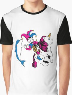 The Unicorn and the Jester Graphic T-Shirt
