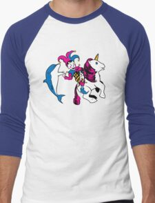 The Unicorn and the Jester Men's Baseball ¾ T-Shirt