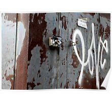 Carnegie, PA - Love Grafitti Poster